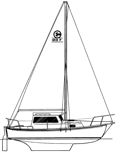 Cp 23 Pilothouse A Trailerable Cruising Sailboat From Com