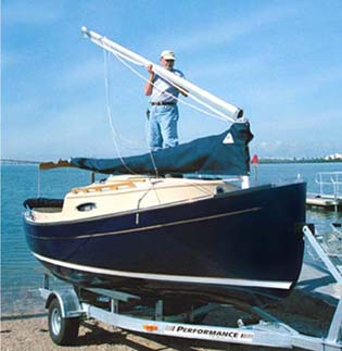 The mastendr quick rig sailing system from com pac yachts mastendr system step 1 publicscrutiny Gallery